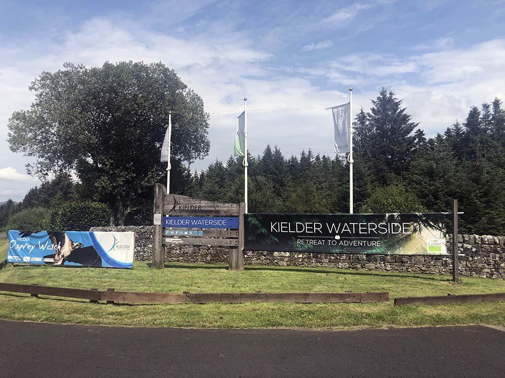 Landal Kielder Waterside ligt prachtig in de bossen en aan het stuwmeer