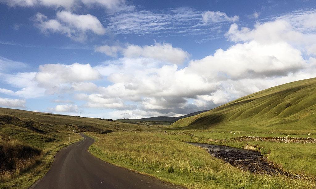 We maken ook een uitstapje naar Schotland, wat maar tien minuten van Landal Kielder Waterside ligt