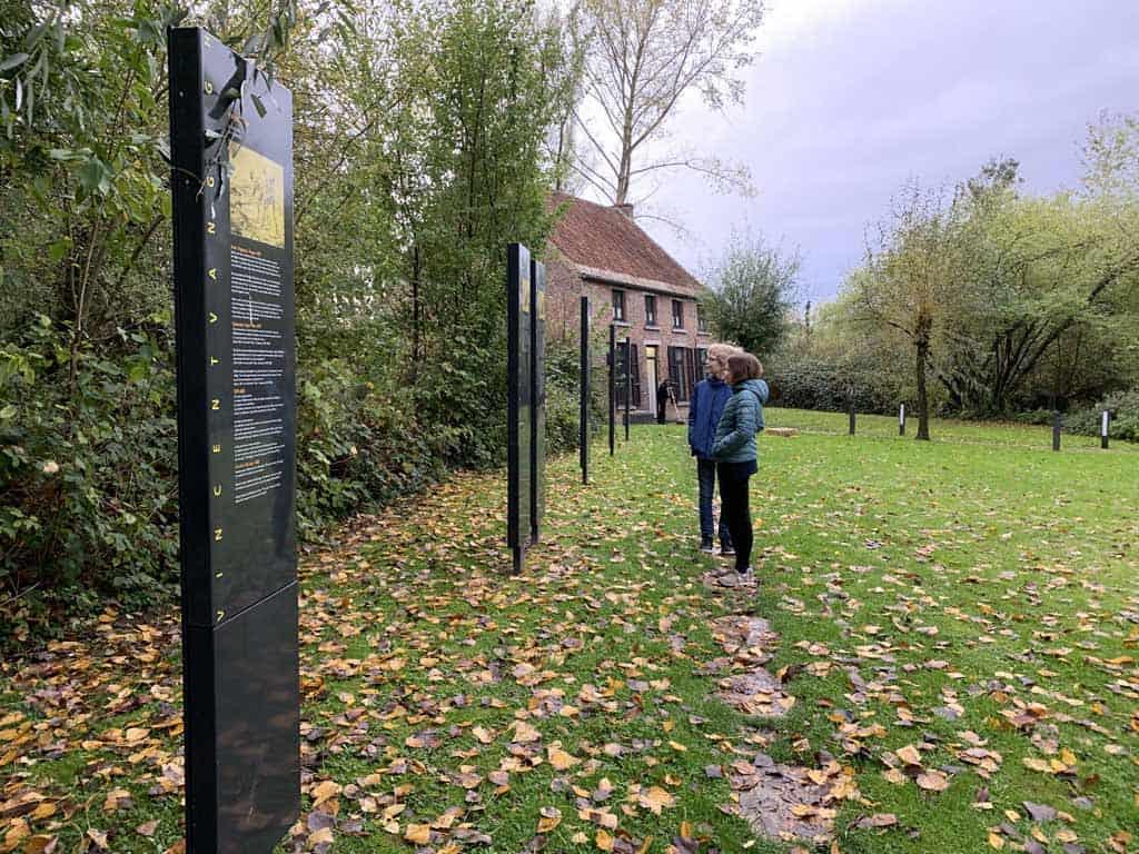 Cuesmes Huisje van Gogh Mons met kinderen Bergen België
