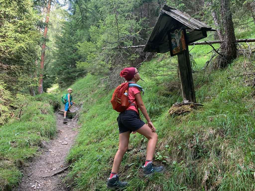 huttentocht in Tirol virgentaler sonnseitenweg