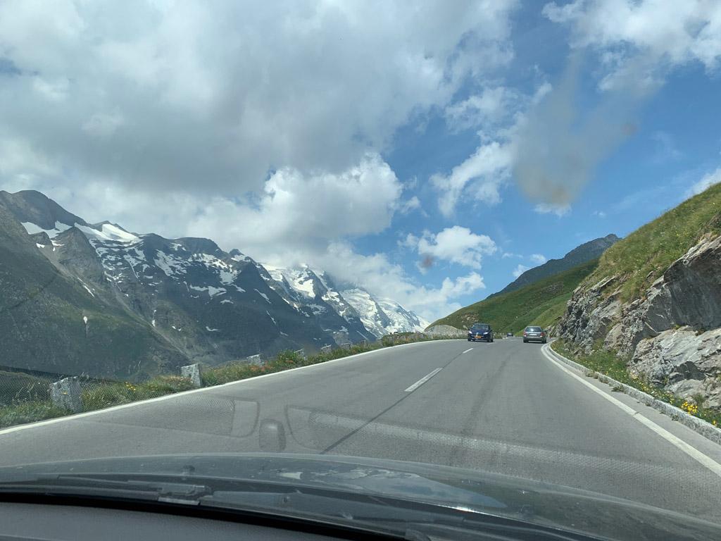 Grossglockner alpenstrassen vanuit Virgental