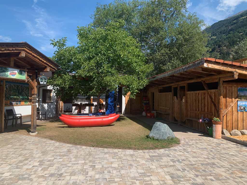 Adventurepark Osttirol raften