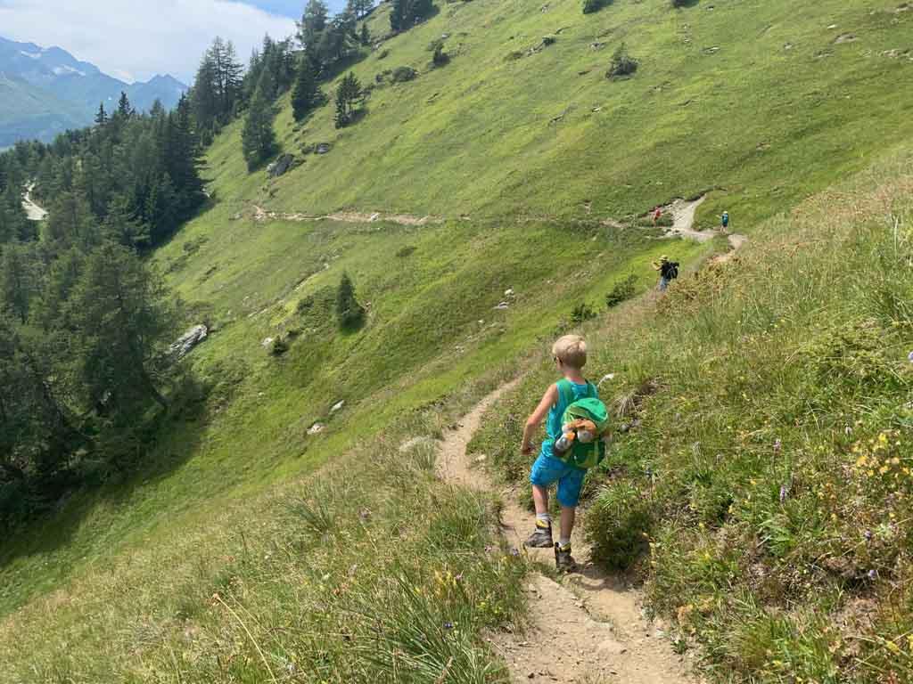 Huttentocht in Tirol met kinderen