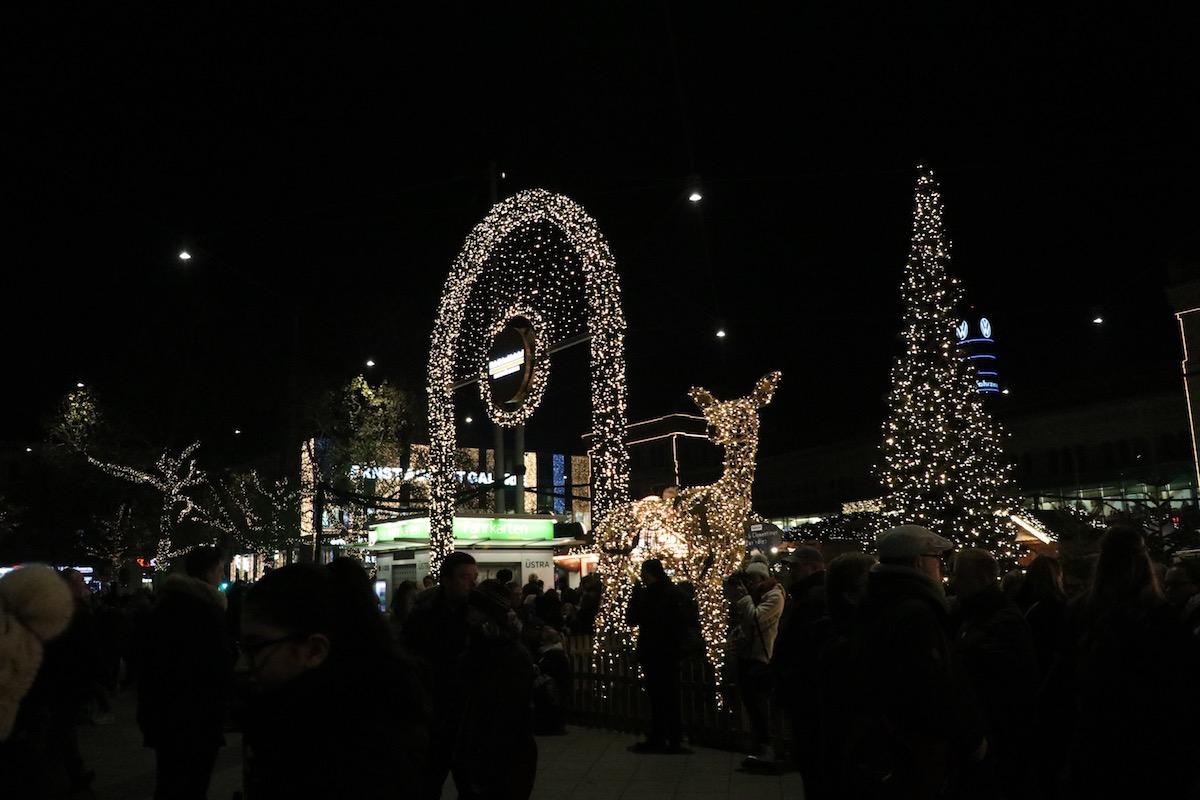 Kerstmarkt Hauptbahnhof