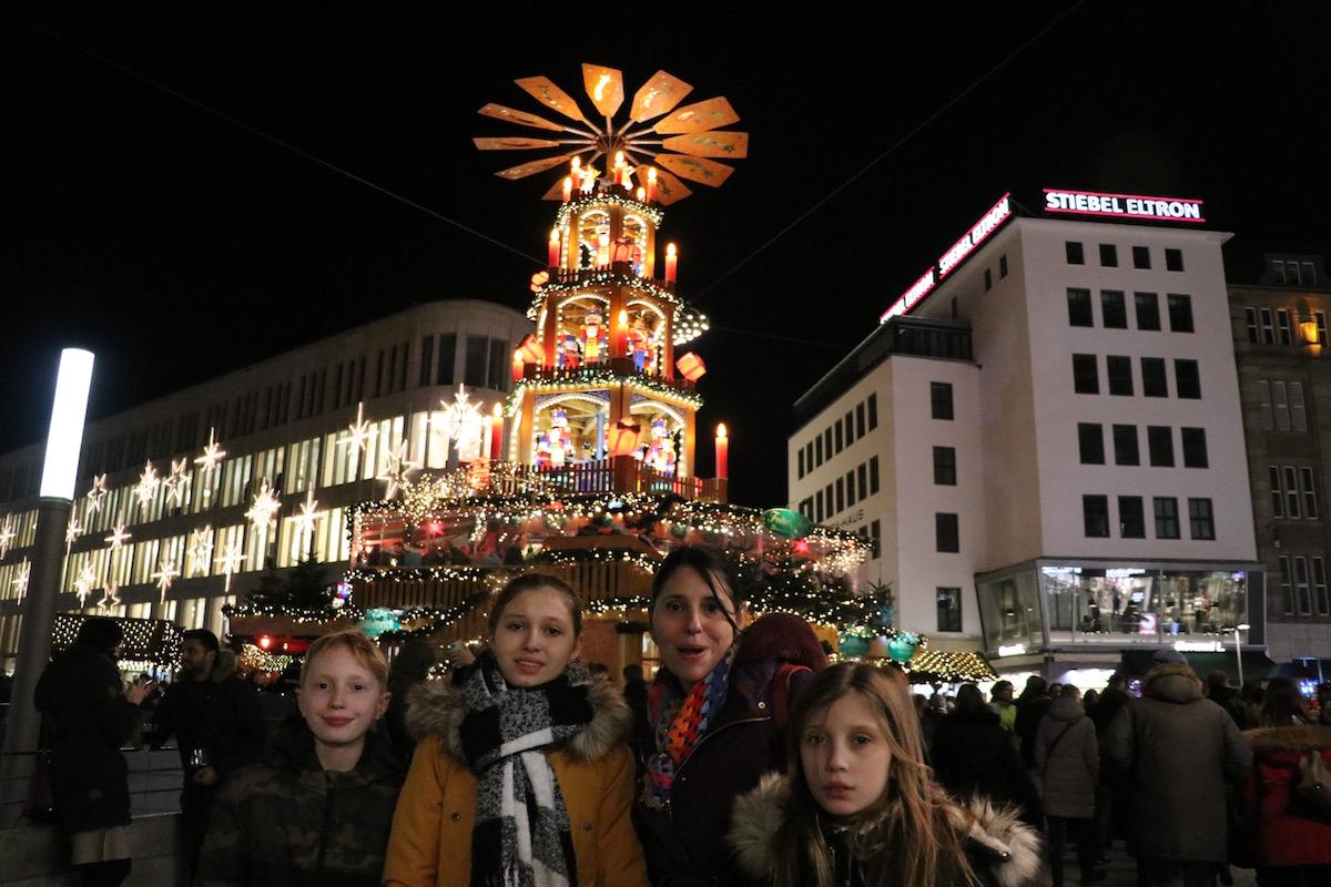 kerstpiramide Hannover