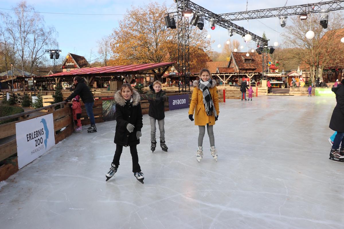 schaatsen Erlebnis-Zoo Hannover