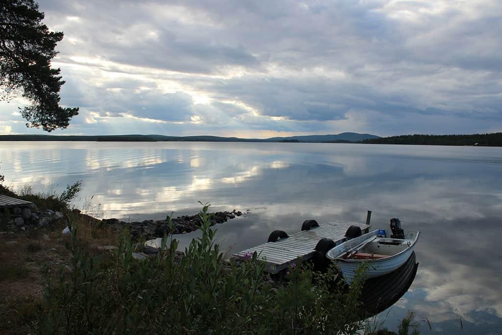 #nofilter. Zo mooi is het aan een van de stille meren.