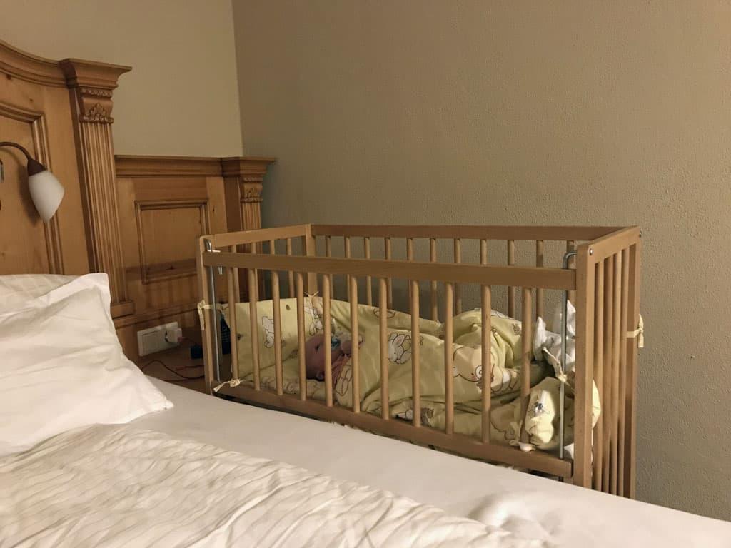 Heel fijn dat er ook een co-sleeper is van onze kleine dame.