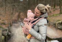 De Neko Switch draagzak is hip, comfortabel en groeit met je baby mee.