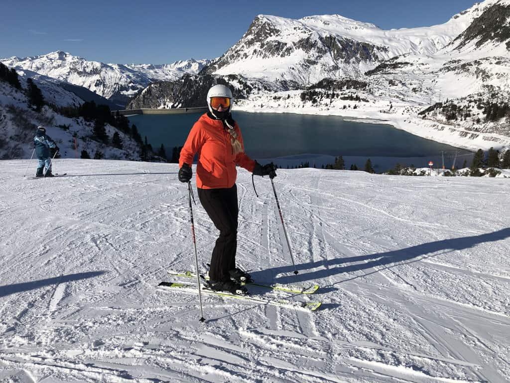 Galtür is een mooi en overzichtelijk skigebied.