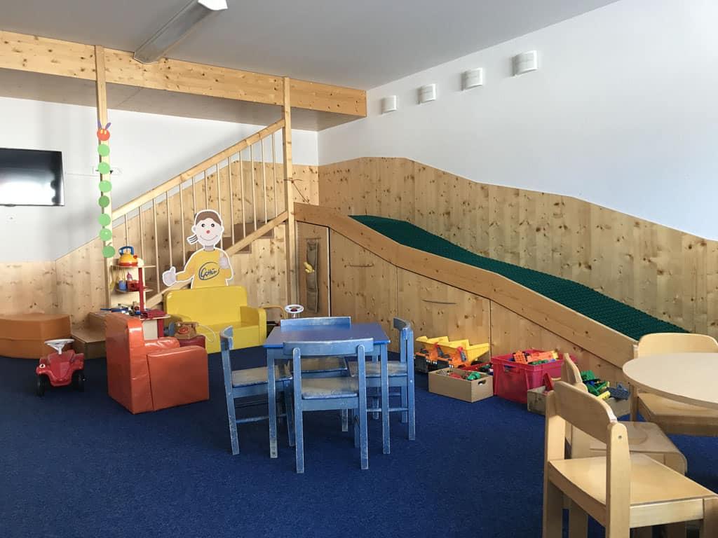 In Galtür is ook een fijne kinderopvang.