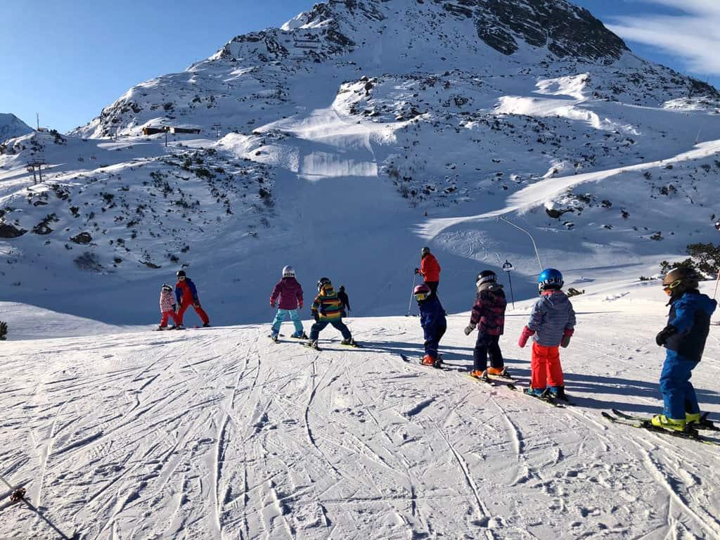 Galtür is een klein maar fijn skigebied.