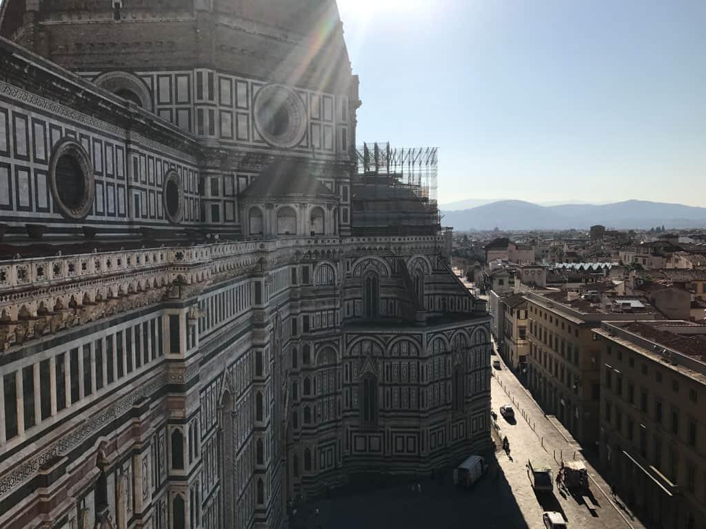 Florence, een mooie stad om doorheen te lopen.