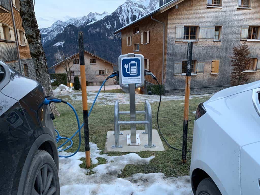 Ook bereikbaar met elektrische auto.