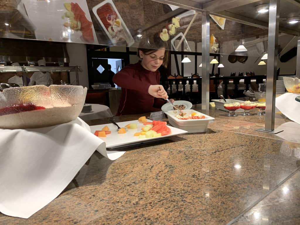 Sauerland Stern Hotel buffetrestaurant