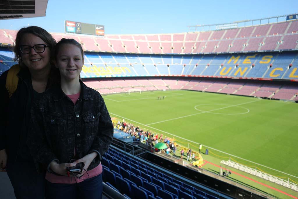 Echt een heel groot stadion!
