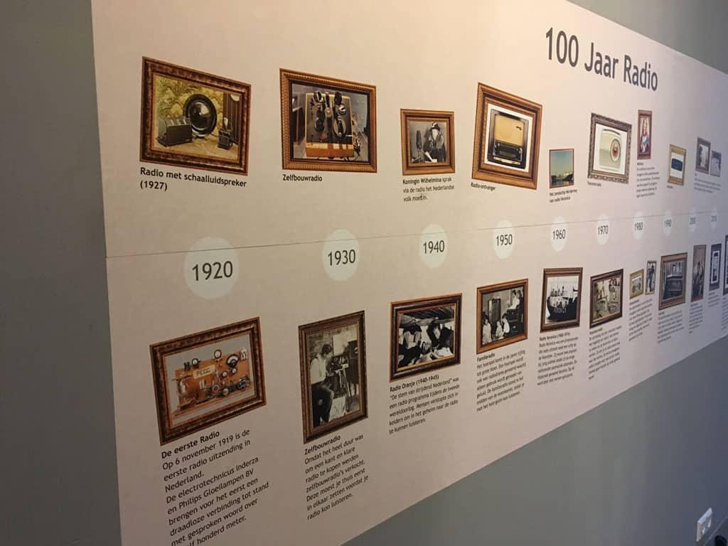 Radio bestaat 100 jaar. In deze tijdlijn zie je hoe de ontwikkeling van het medium deze eeuw verliep