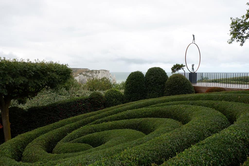 De tuinen van Etretat