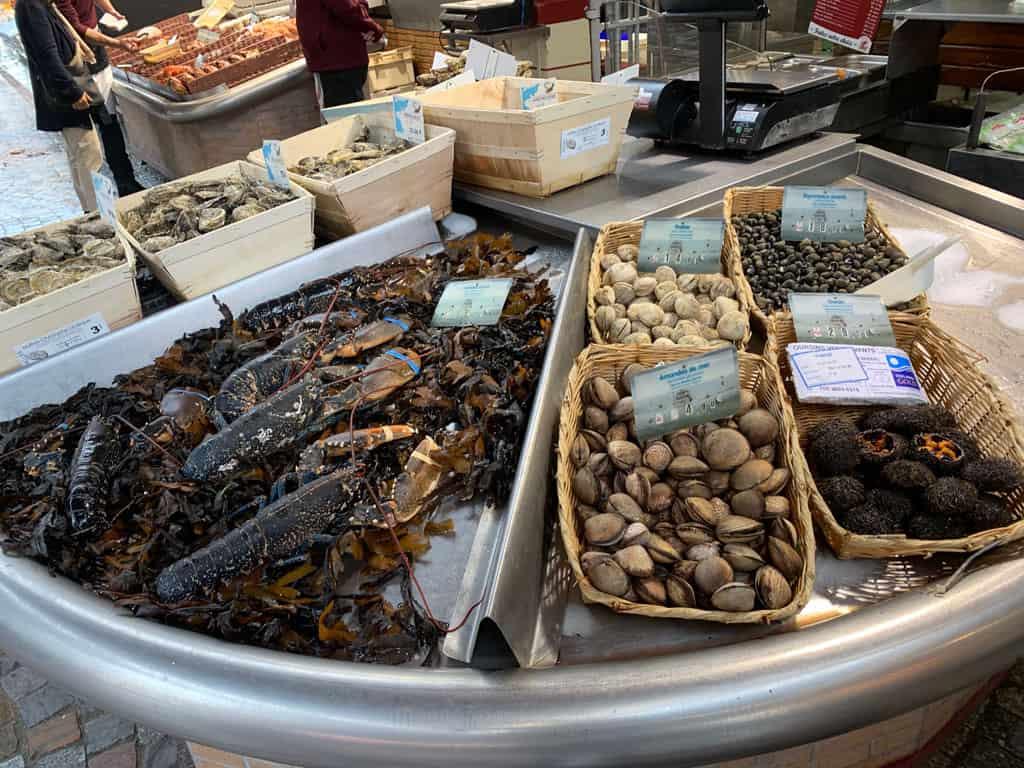 Vismarkt Trouville