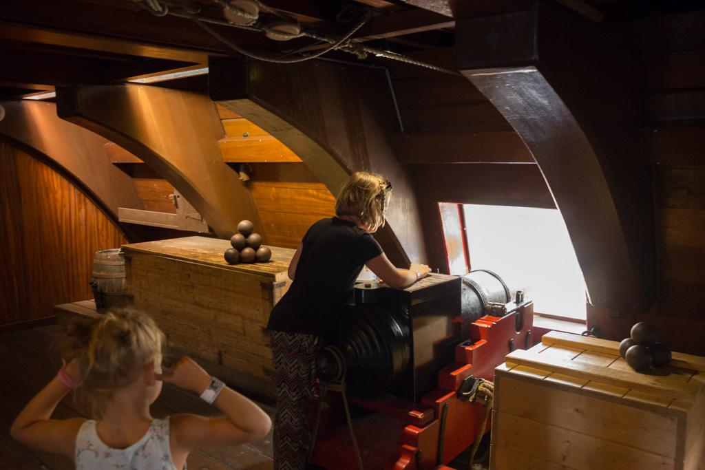 Er is veel te doen voor kinderen in het Scheepvaartmuseum