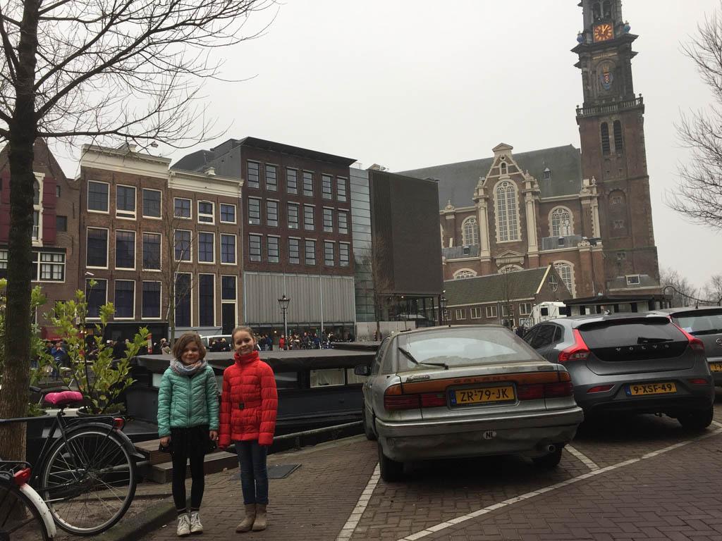 Voor het Achterhuis van Anne Frank