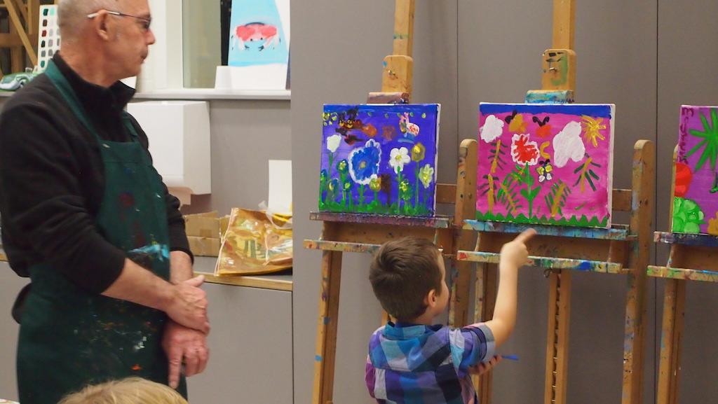 Zelf aan de slag met kunst in het Van Gogh Museum met kinderen