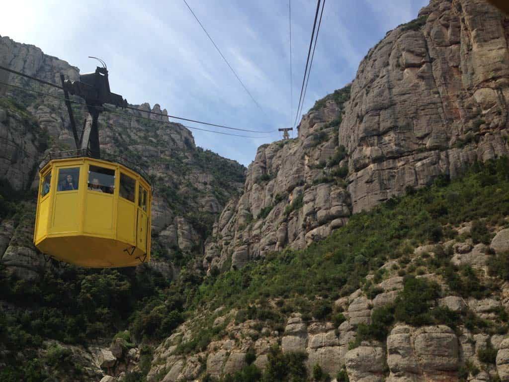 Montserrat is een van de hoogtepunten in het binnenland van Catalonië.