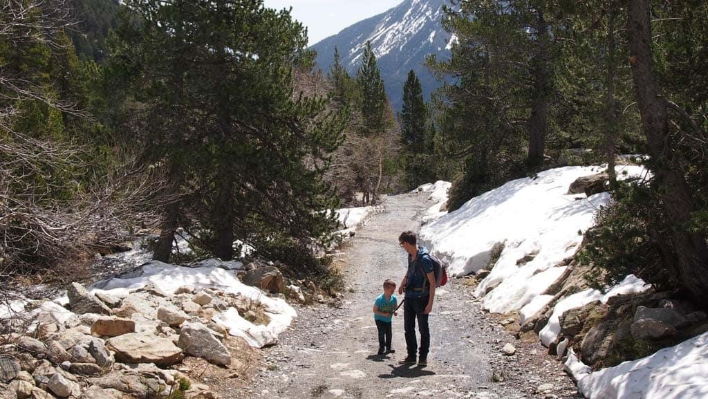 De Spaanse Pyreneeën zijn ruig en toch heel toegankelijk voor gezinnen.
