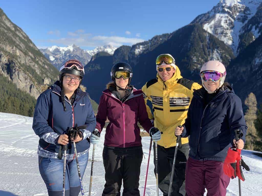 Wat zijn we blij met onze Nederlandse skileraar.