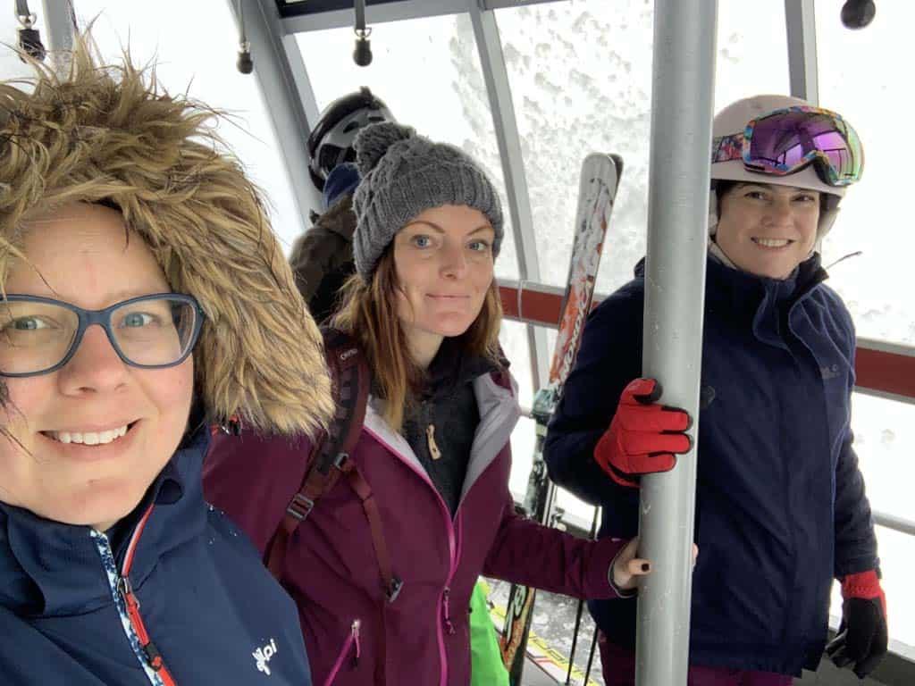 Met de Panoramabahn naar boven om te wandelen of te skiën.