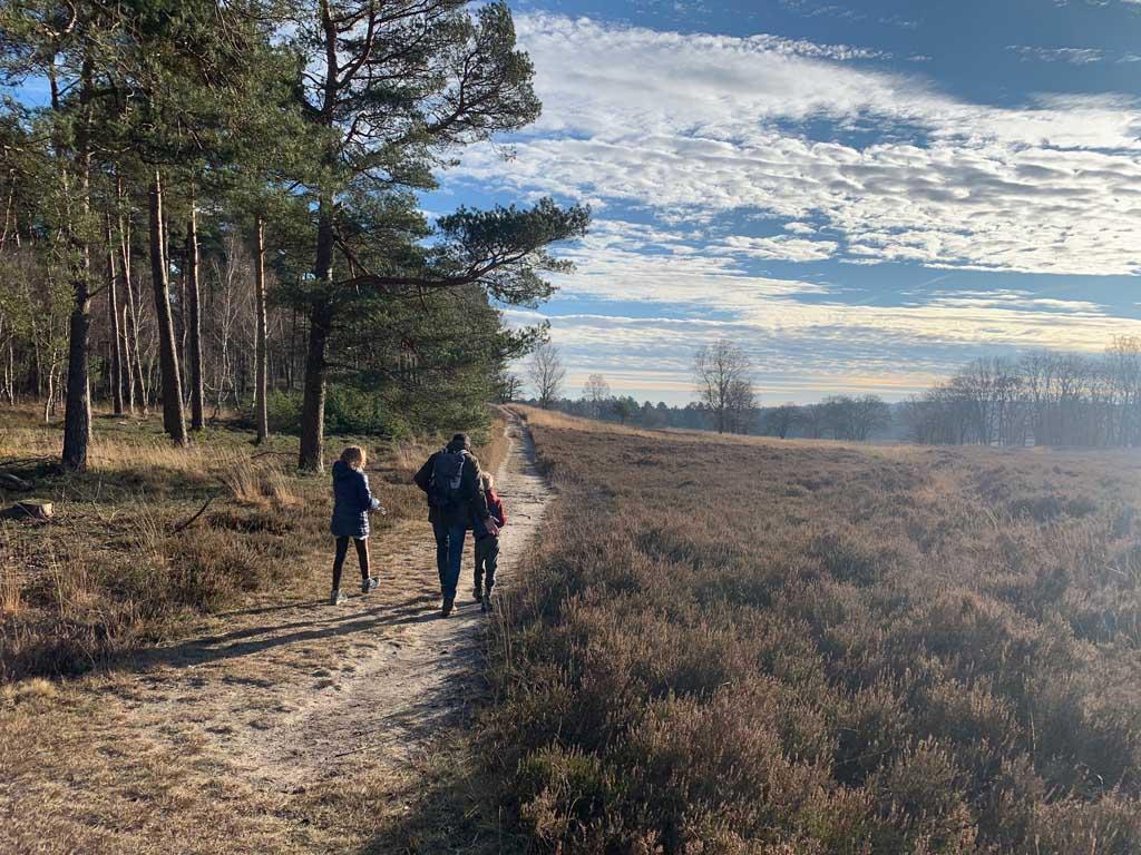 Wat een afwisselende wandeling vanaf de Loenermark.