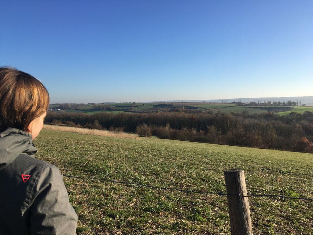 Uitzicht op Limburgs Toscane