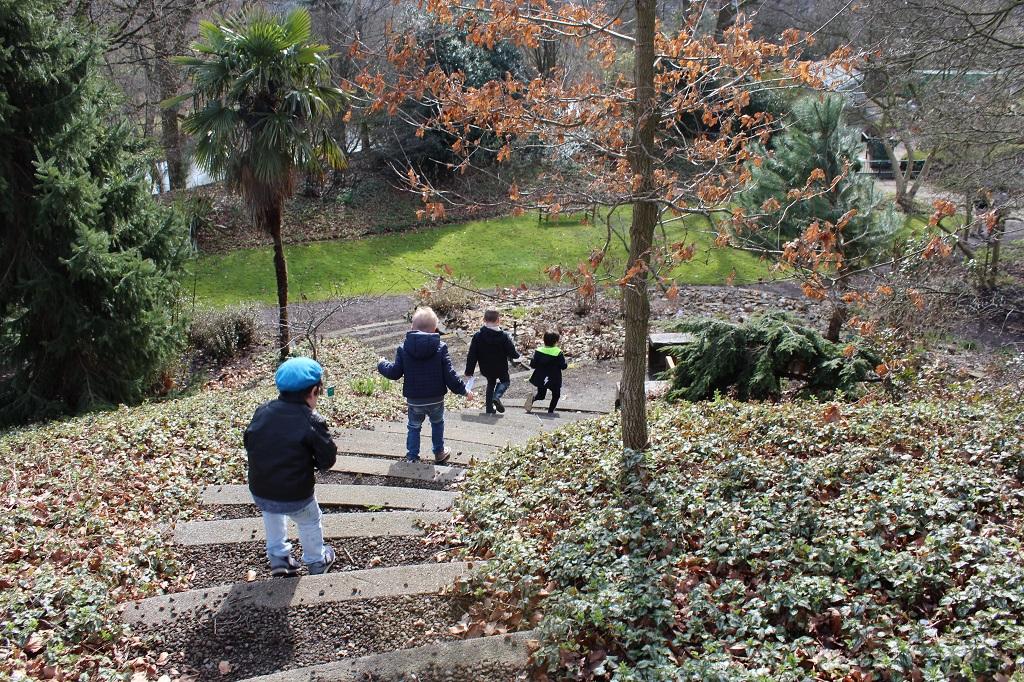 Kende jij de wandeling door de Botanische Tuinen al?