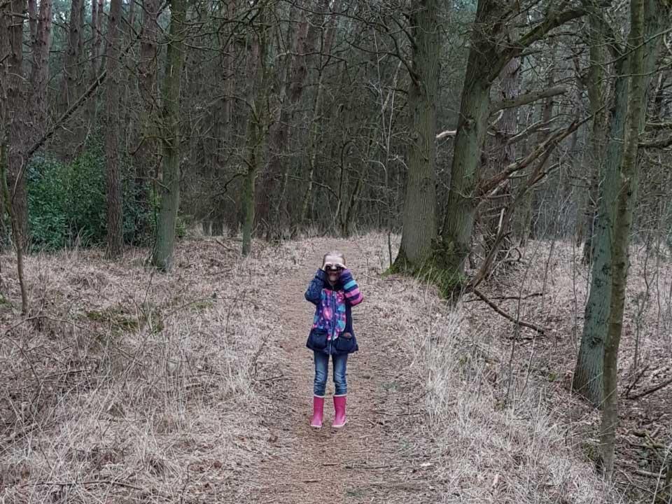 Heerlijk wandelen in het Grenspark Kalmhoutse Heide.