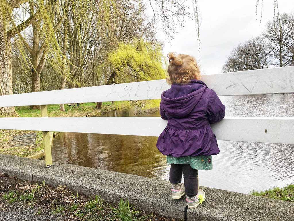 Een leuke wandeling voor kleine kinderen.