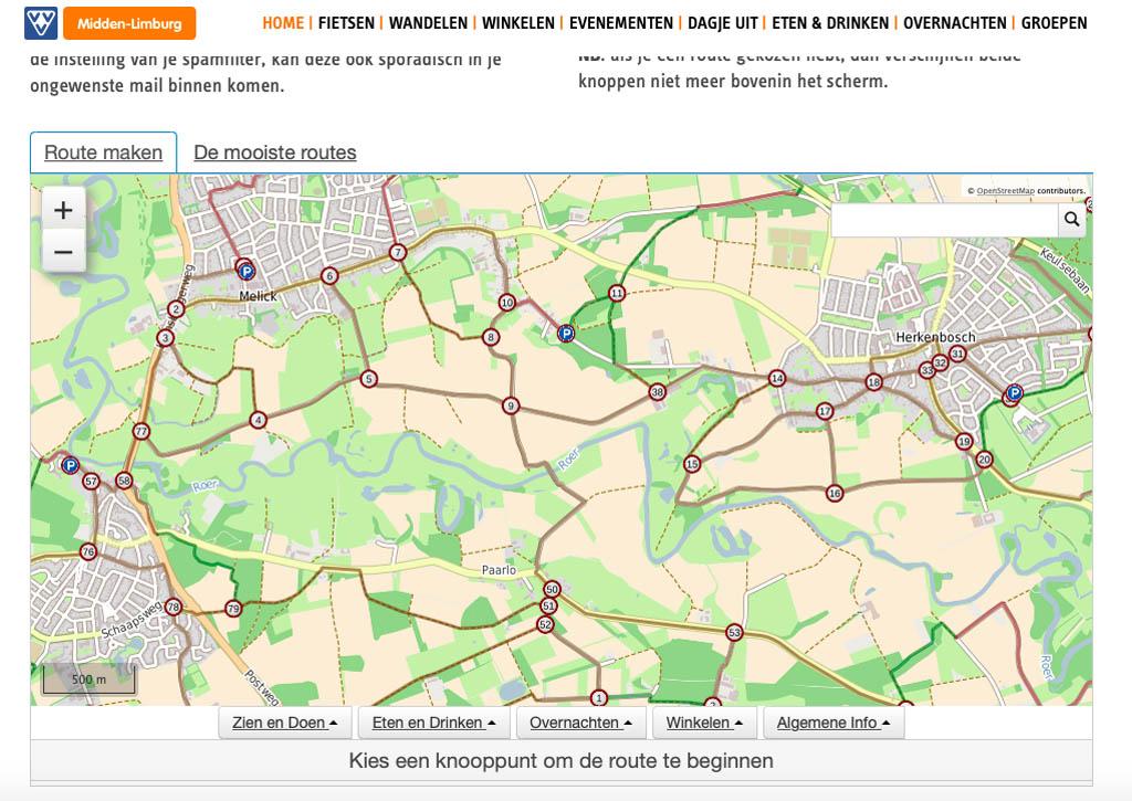 wandelnetwerk midden Limburg