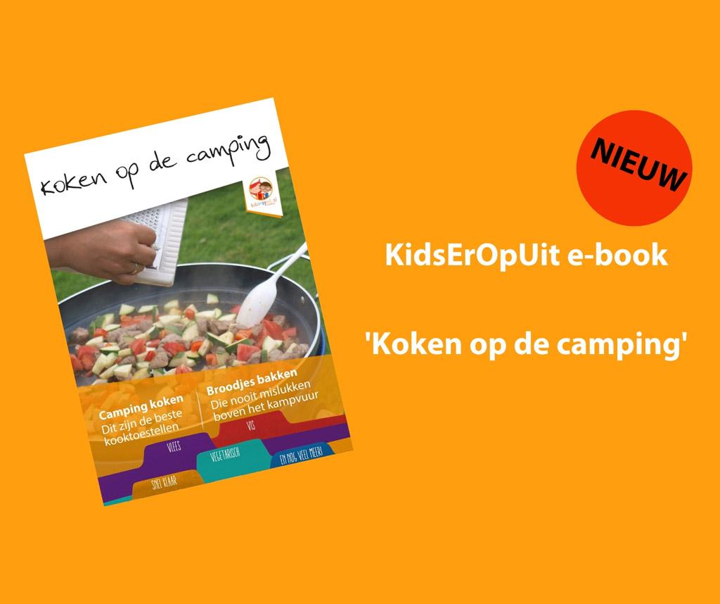 Een e-kookboek met makkelijke recepten en foto's zoals het echt van jouw kampeertoestel komt.