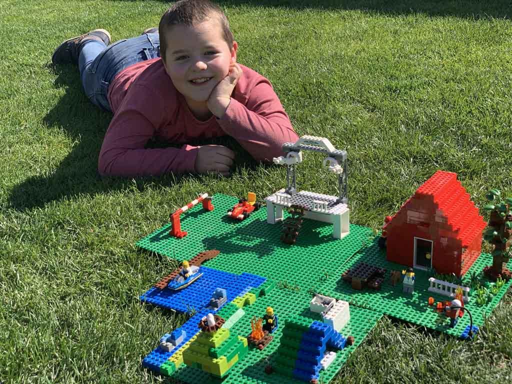 Ons gezinsresultaat voor de LEGO Campingmaster.