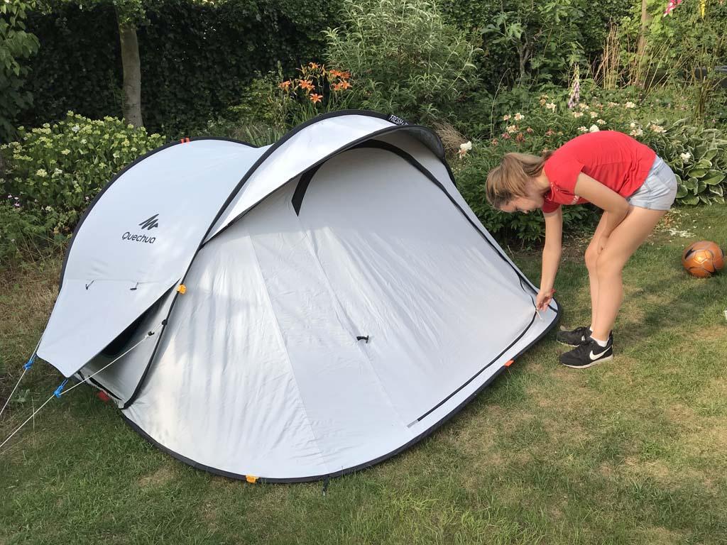 De Fresh & Black tenten blijven het koelst van allemaal.
