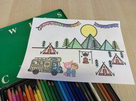 kleurplaat-vakantie-kidseropuit
