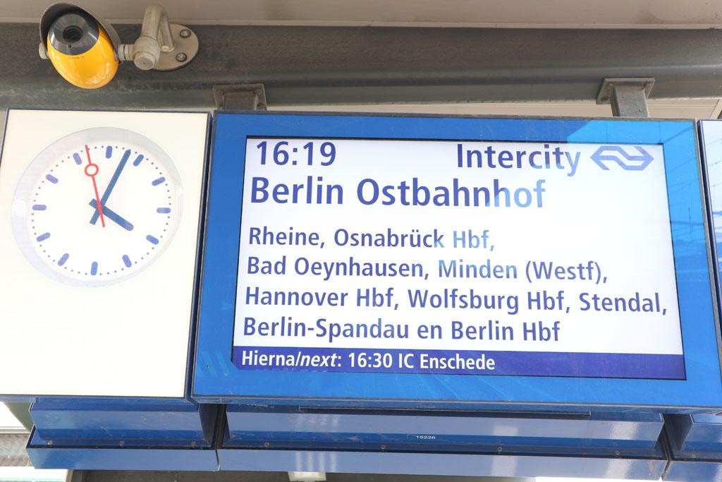 Ook treinreizen worden geannuleerd.