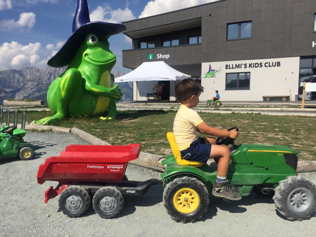 Oostenrijk is ook een perfecte bestemming voor jonge kids
