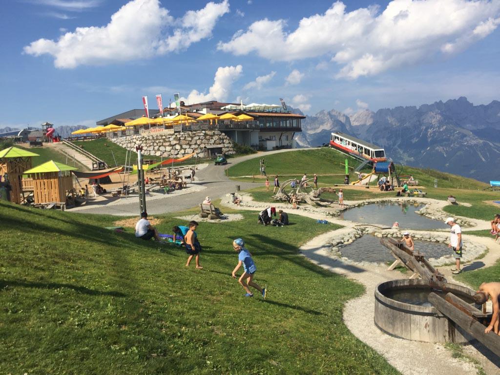 De Wilder Kaiser heeft prachtige speeltuinen op de berg