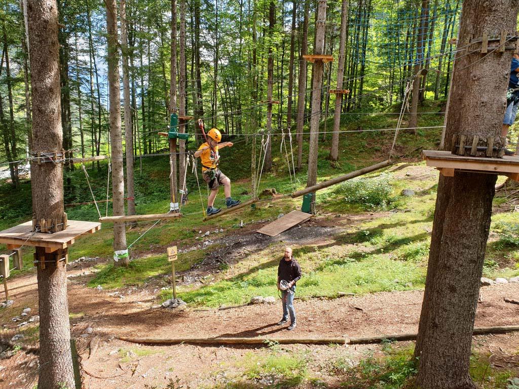 vakantie5 Tieners zijn ook meer in voor stoere spannende activiteiten.