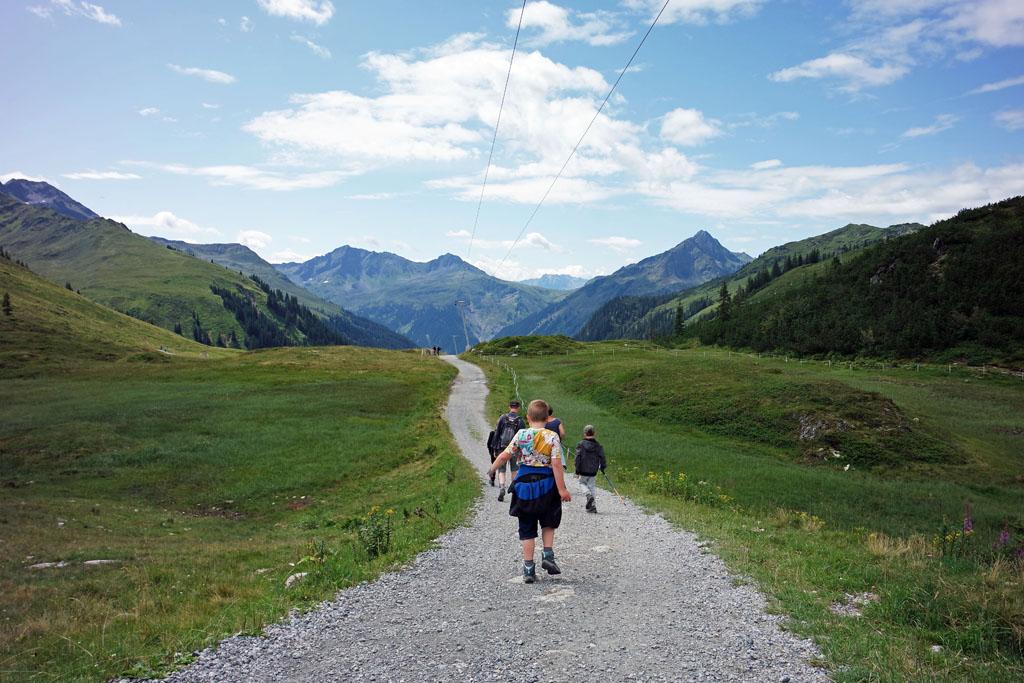 Wandelen door de bergen vakantie9 bij Montafon