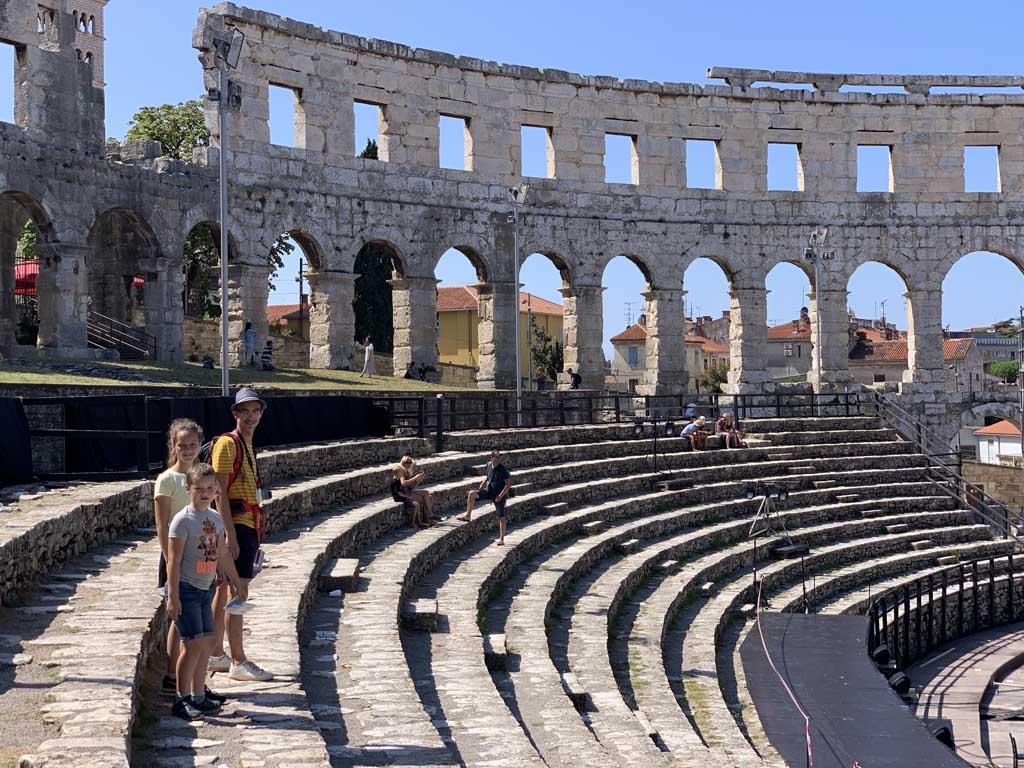 Pula heeft een mooi amfitheater.