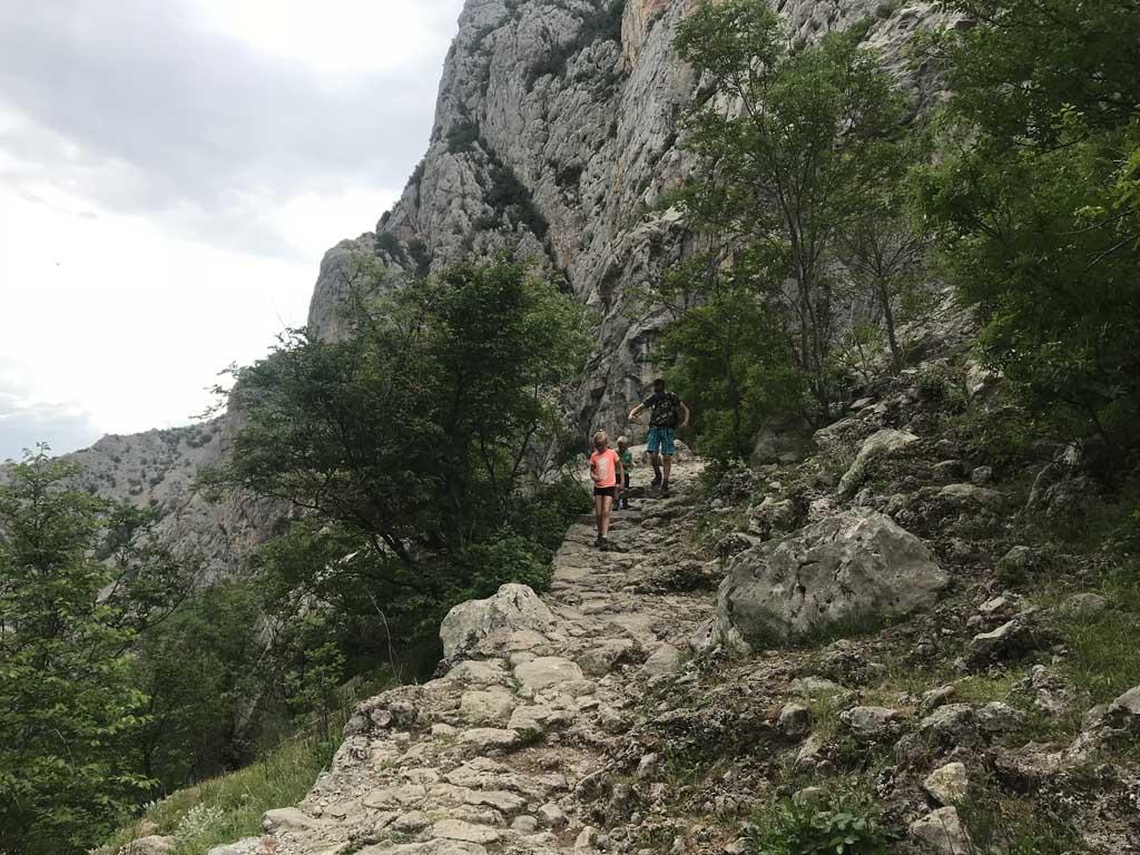 Kroatië zomervakantie Paklenica