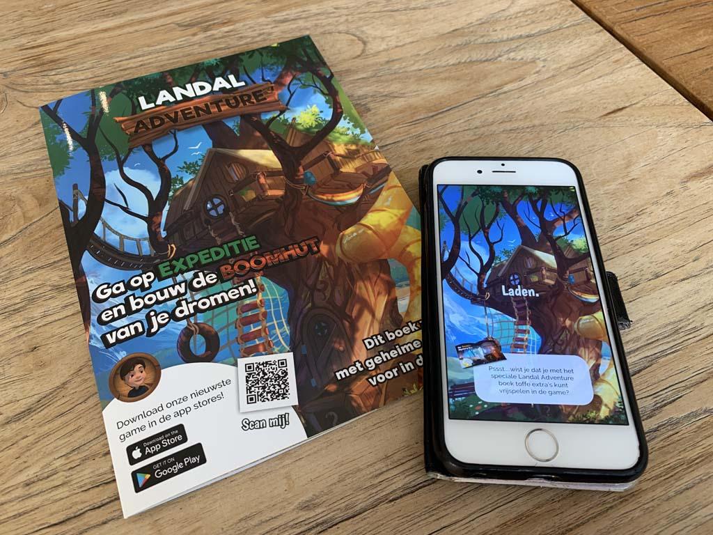 In het Landal Adventure boekje zijn allerlei extraatjes te vinden.