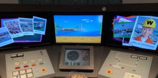 Leuk interactief computerspel in het MuzeeAquarium in Delfzijl