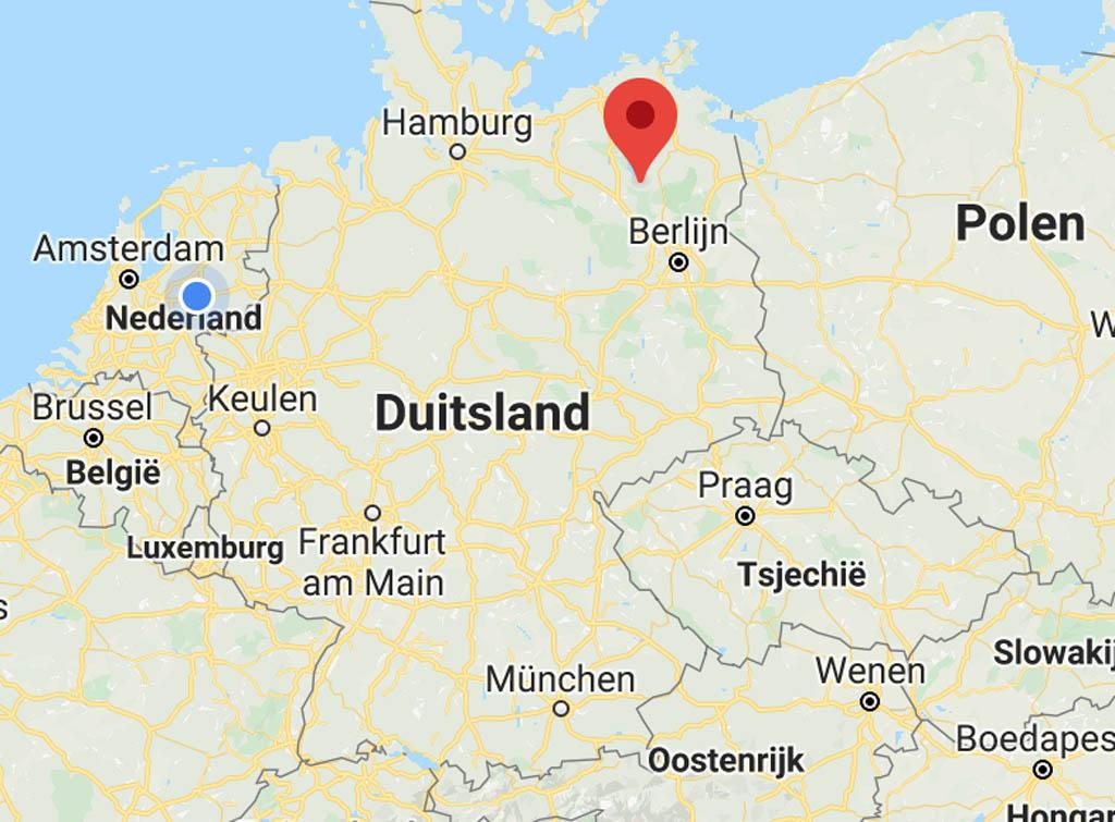 Het merengebied in Mecklenburg-Vorpommern, een onbekende bestemming in Duitsland die zo mooi is.